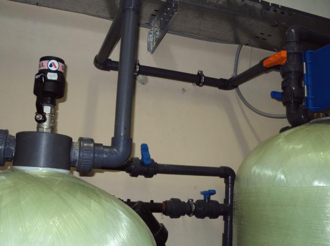 Система предварительной аэрации питьевой воды