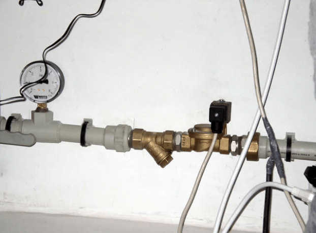 Проточная аэрация водопровода