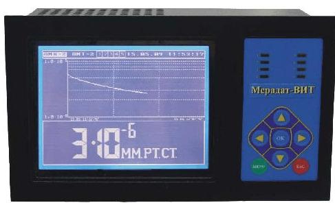 Электронный вакуумметр в действии