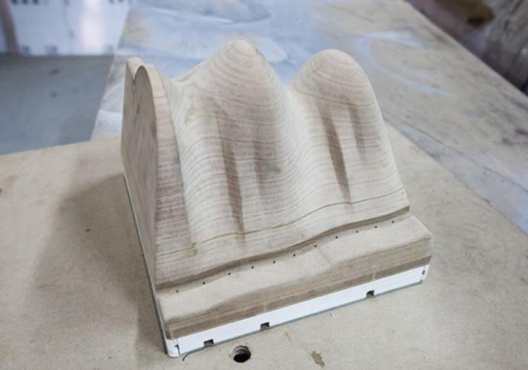 Процесс создания болванки под вакуумную формовку