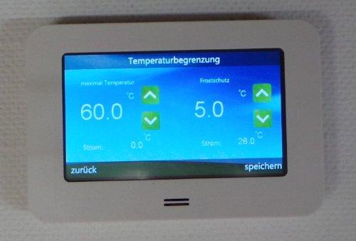 Сенсорный терморегулятор для отопления и охлаждения