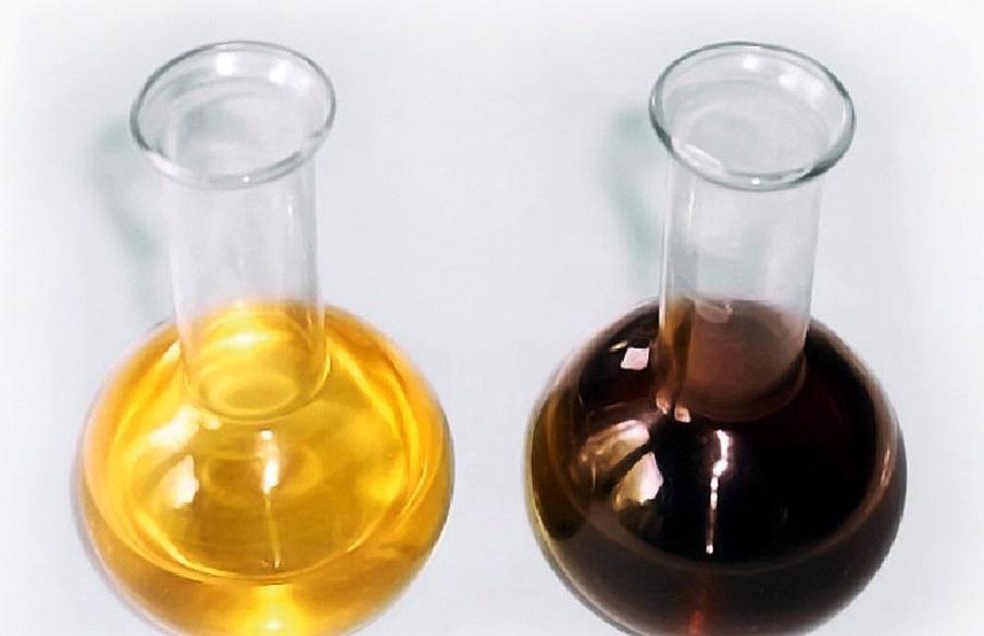 Цвет масла после обработки сырья