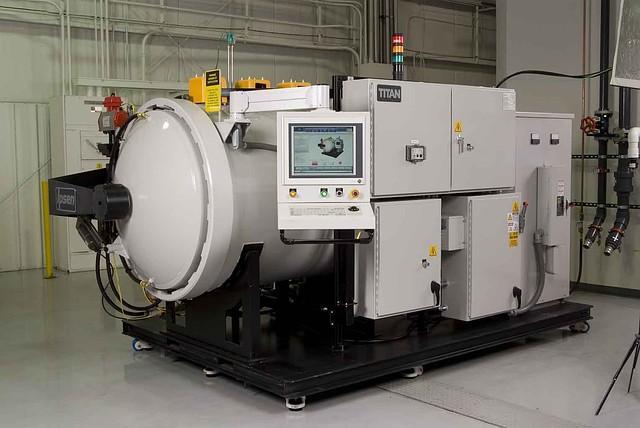 Промышленная высокотемпературная вакуумная печь