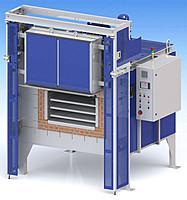 Промышленная печь электрическая сопротивления камерная