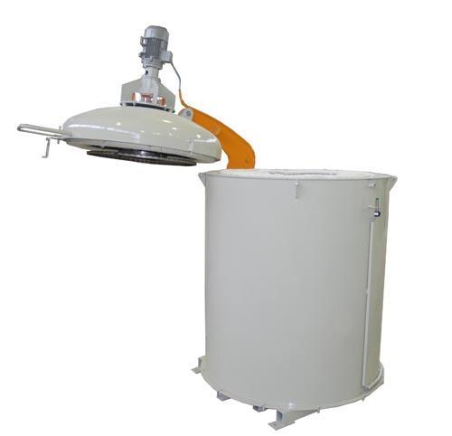 Шахтная печь для термообработки алюминия